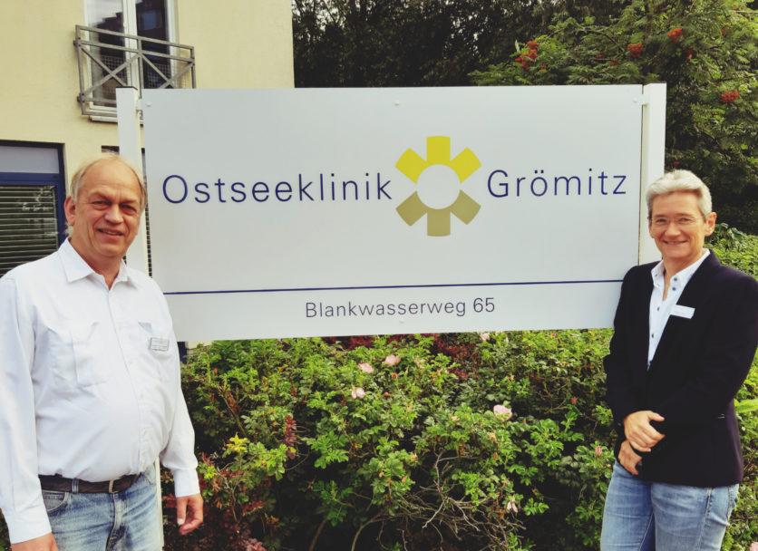 Neues Führungsteam in der Ostseeklinik Grömitz